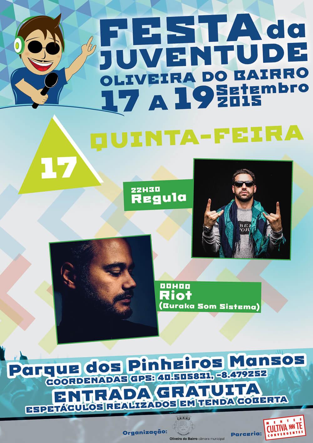 Festa da Juventude de Oliveira do Bairro - Poster for the 17th day | Way2Start - Design & Digital Agency